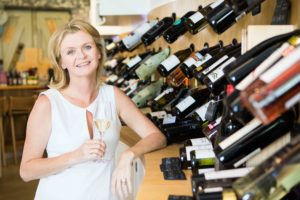 Sorcha Holloway host of UK wine hour